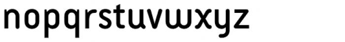 Armature Neue Sans Regular Font LOWERCASE