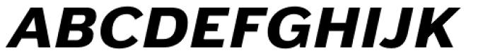Armitage Black Italic Font UPPERCASE