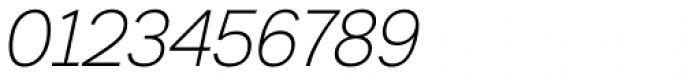 Armitage Thin Italic Font OTHER CHARS
