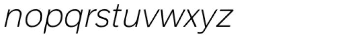 Armitage Thin Italic Font LOWERCASE