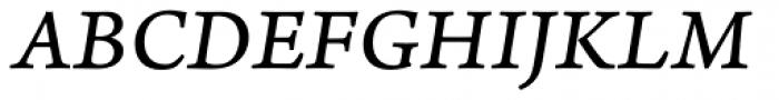Arno Pro Caption Italic Font UPPERCASE
