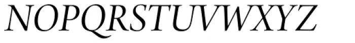 Arno Pro Display Italic Font UPPERCASE