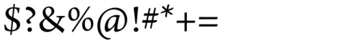 Arno Pro Regular Font OTHER CHARS