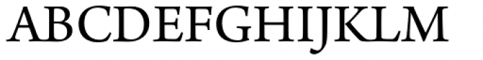 Arno Pro Regular Font UPPERCASE