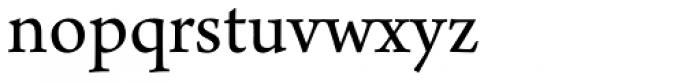 Arno Pro Regular Font LOWERCASE