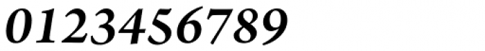 Arno Pro SemiBold Italic Font OTHER CHARS