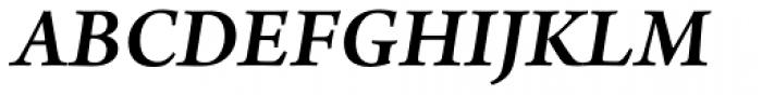 Arno Pro SemiBold Italic Font UPPERCASE