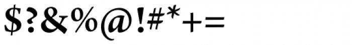 Arno Pro SemiBold Font OTHER CHARS