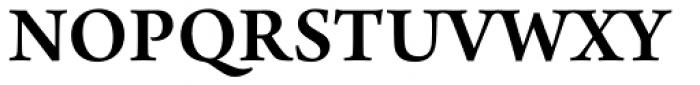Arno Pro SemiBold Font UPPERCASE