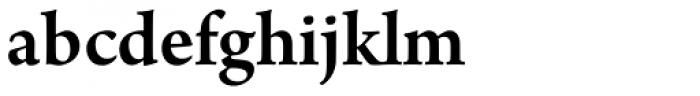 Arno Pro SemiBold Font LOWERCASE