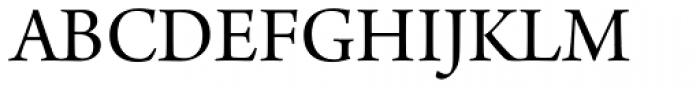 Arno Pro SubHead Font UPPERCASE