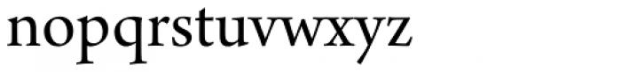 Arno Pro SubHead Font LOWERCASE