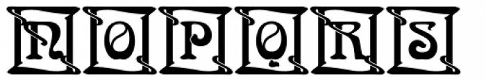 Arnold Boecklin Initials D Font UPPERCASE