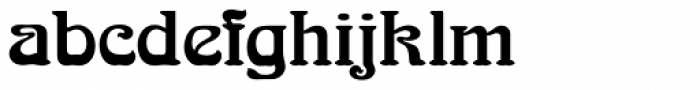 Arnold Boecklin Initials D Font LOWERCASE