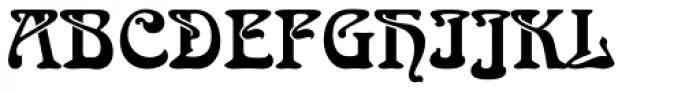 Arnold Boecklin Font UPPERCASE