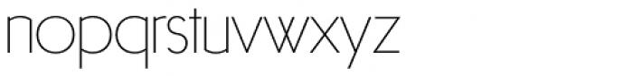 Arnold Samuels Light Font LOWERCASE