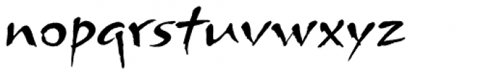 Arnova Std Font LOWERCASE