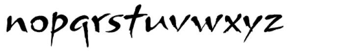 Arnova Font LOWERCASE
