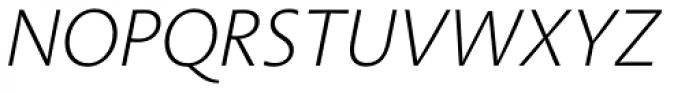 Aroma No. 2 Pro ExtraLight Italic Font UPPERCASE