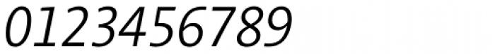 Aroma No. 2 Pro Light Italic Font OTHER CHARS