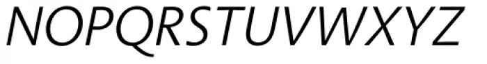 Aroma No. 2 Pro Light Italic Font UPPERCASE