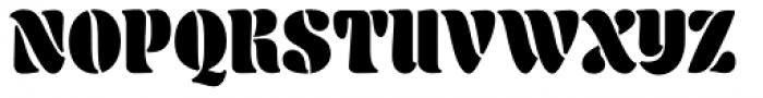 Aromatron Regular Font UPPERCASE