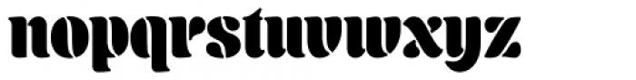 Aromatron Regular Font LOWERCASE