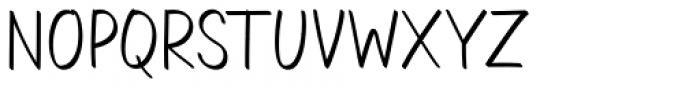 Aromi Regular Font UPPERCASE