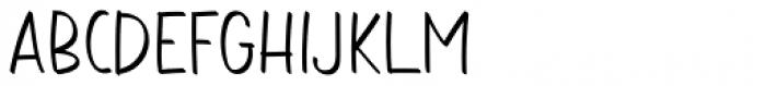 Aromi Regular Font LOWERCASE