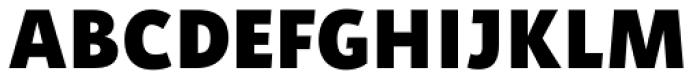 Aromo Black Font UPPERCASE