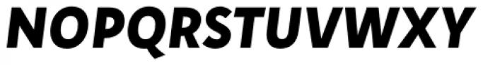 Aromo ExtraBold Italic Font UPPERCASE