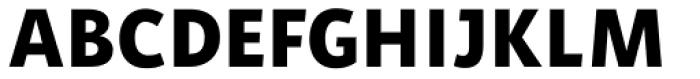 Aromo ExtraBold Font UPPERCASE