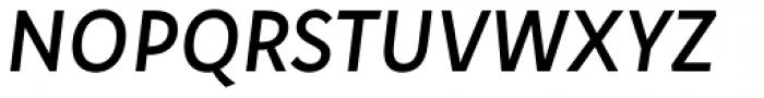 Aromo Italic Font UPPERCASE