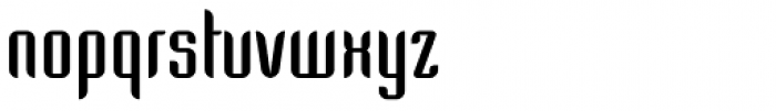 Arpa Bold Font LOWERCASE