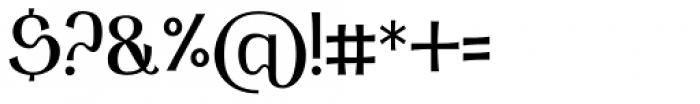 Arqua Badboy Font OTHER CHARS