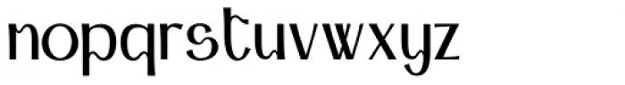 Arqua Badboy Font LOWERCASE