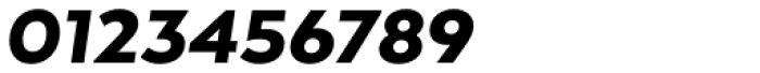 Arquitecta Black Italic Font OTHER CHARS