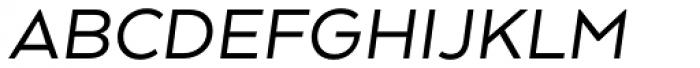 Arquitecta Standard Italic Font UPPERCASE