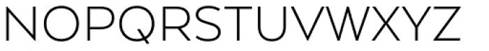 Arquitecta Standard Light Font UPPERCASE