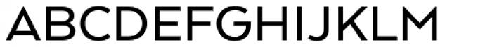Arquitecta Standard Medium Font UPPERCASE