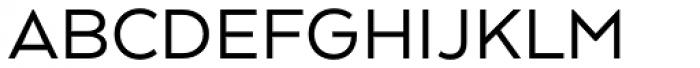 Arquitecta Standard Regular Font UPPERCASE