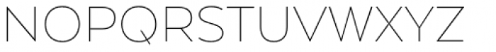 Arquitecta Thin Font UPPERCASE