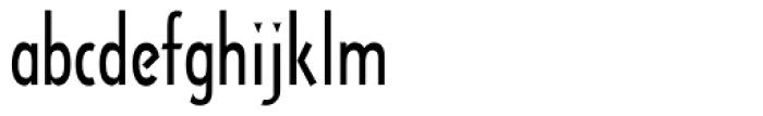 Arquitectura Regular Font LOWERCASE
