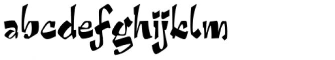 Arriba Font LOWERCASE