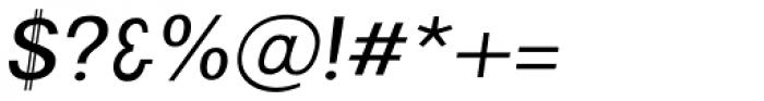 Arrow Heaven Light Italic Font OTHER CHARS