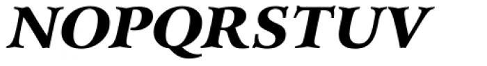 Arrus BT Black Italic Font UPPERCASE
