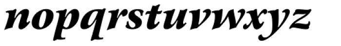 Arrus BT Black Italic Font LOWERCASE