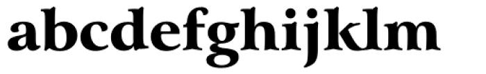 Arrus BT Black Font LOWERCASE