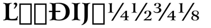 Arrus BT Bold Extension Font UPPERCASE