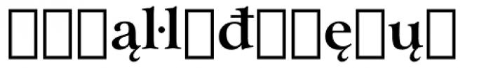 Arrus BT Bold Extension Font LOWERCASE